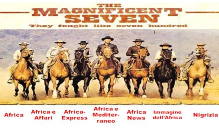 I magnifici sette (siti italiani sull'Africa)