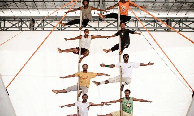 Giorgia e Dereje: un circo e mille acrobazie in Etiopia