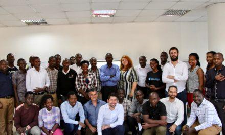 Tre uomini in Uganda, a caccia di startup