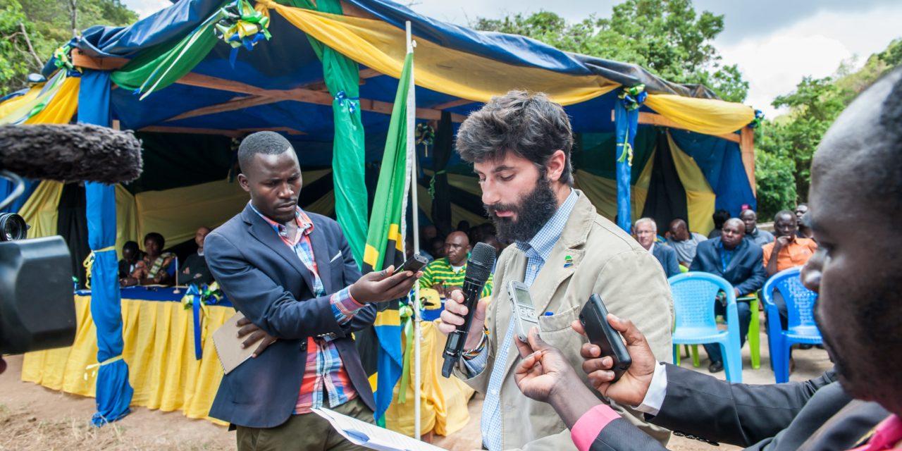 Jacopo Pendezza: in Tanzania con energia!