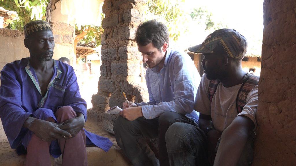 giornalista in africa