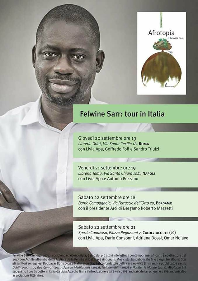 Felwine Sarr Afrotopia
