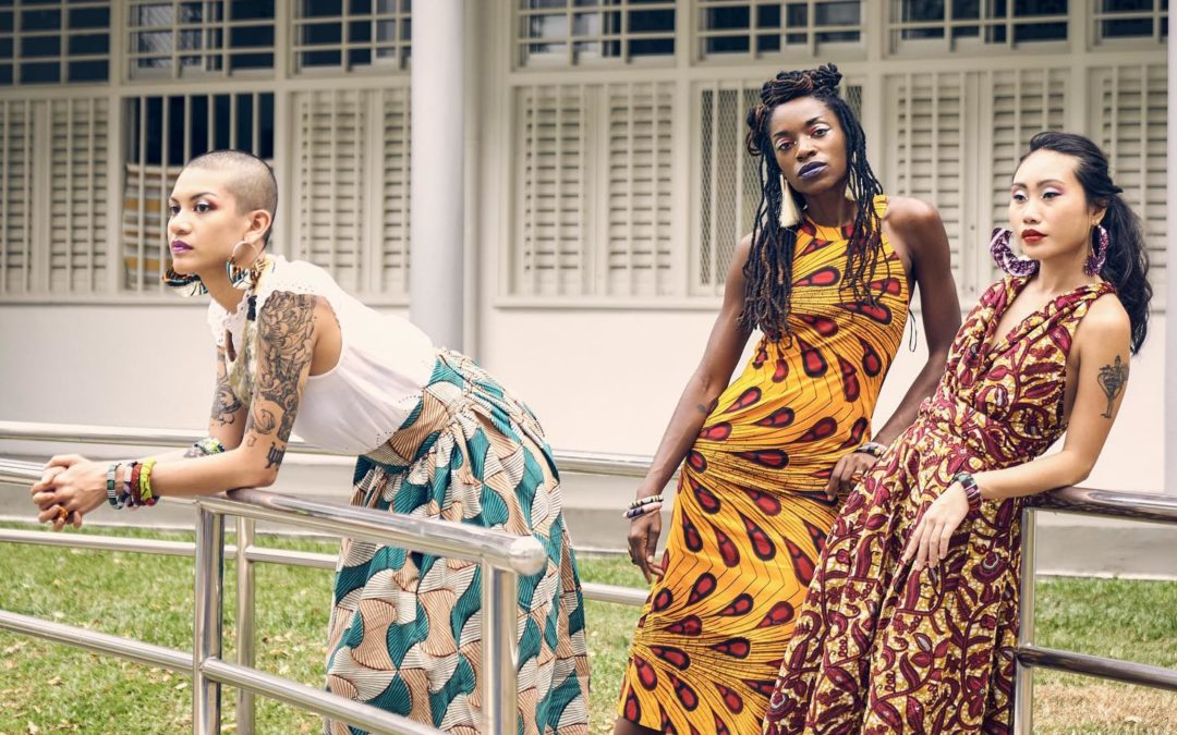 Ifeoma Ubby, la pioniera (italiana) dell'afrofashion a Singapore