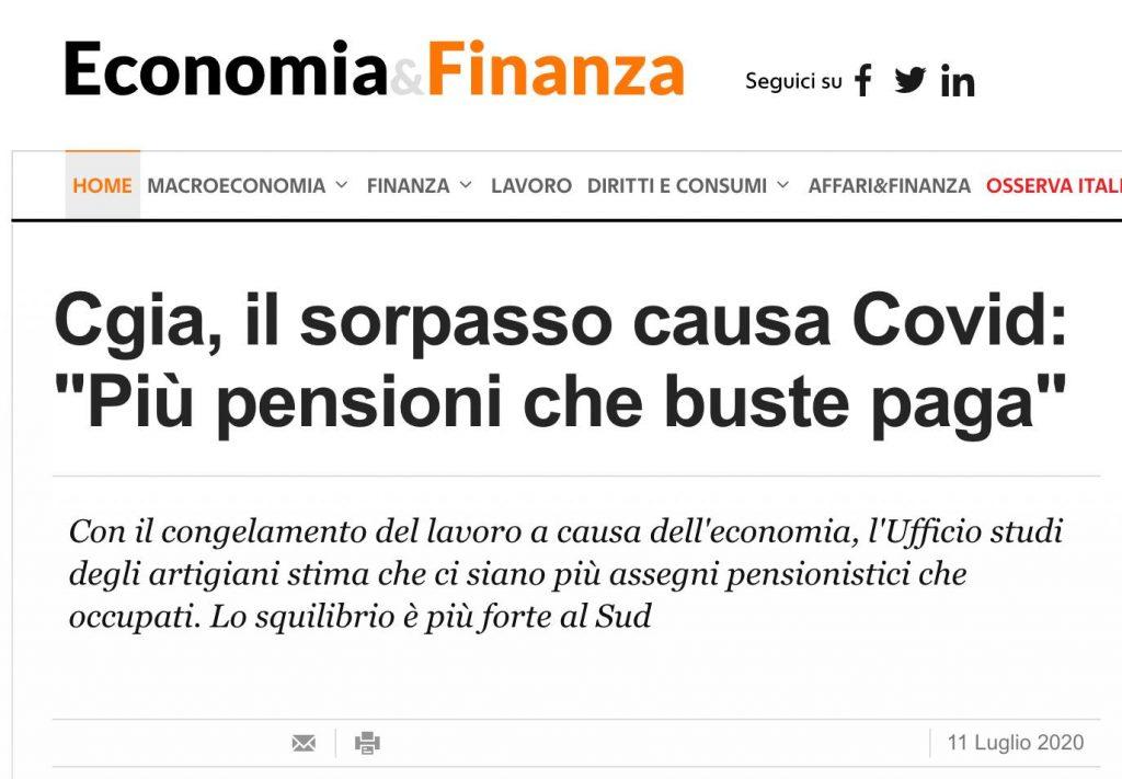 Italia è in crisi che fare